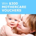 Win $300 Of Mothercare Vouchers