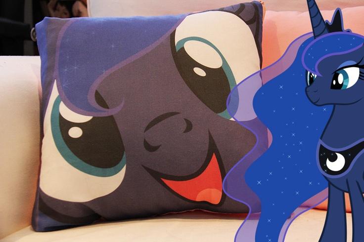 My Little Pony Pillow - Princess Luna. $35.00, via Etsy.