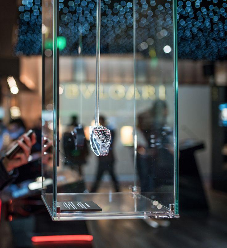 @Hublot LaFerrari Sapphire: A floating watch #Baselworld2017 @Ferrari >>>more>>>https://dietlin.ch/page.php?id=3192&gr=307&nv=4
