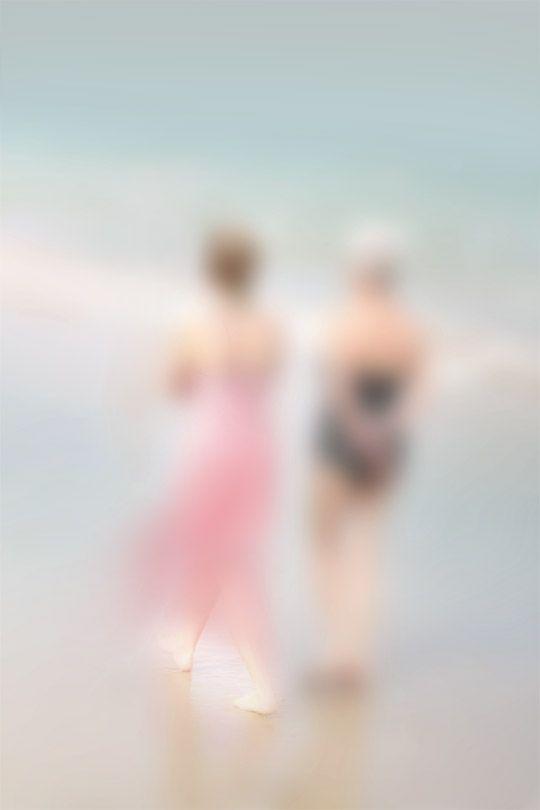 Walk by Philippe Joubert Lussac.  Gaussian blur