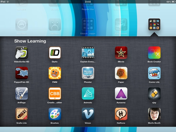 Top 40 iPad apps for education & showing learning