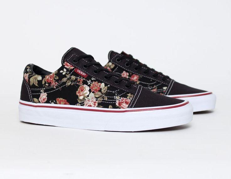 Vans For Girls Floral