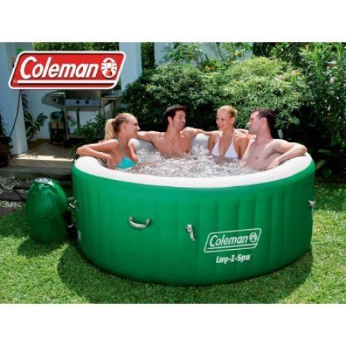 Outdoor Inflatable Massage Portable Spa Center Jet For 4-6 People Patio Jacuzzi #OutdoorInflatableMassage