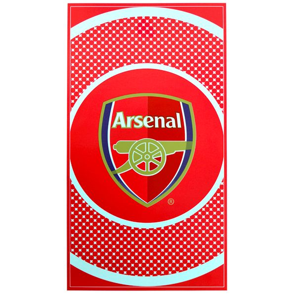 arsenal towel Arsenal London Official Merchandise Available at www.itsmatchday.com
