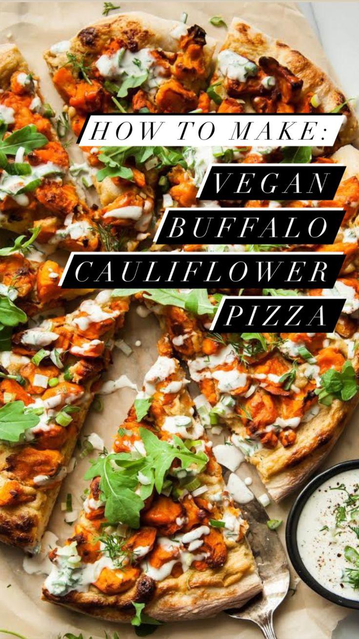 Vegetarian Recipes Dinner, Delicious Vegan Recipes, Veggie Recipes, Asian Recipes, Vegan Pizza Recipe, Dinner Recipes, Vegetarian Pizza, Cooking Recipes, Healthy Pizza