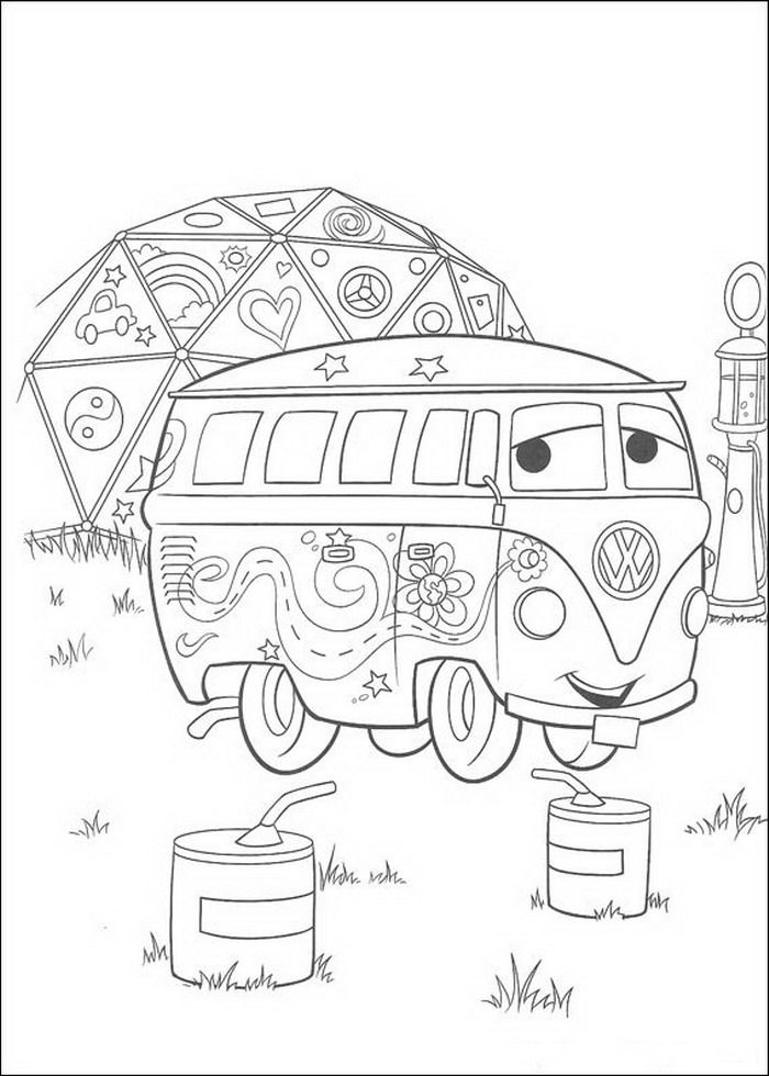coloring page Cars (Pixar) Kids-n-Fun                                                                                                                                                                                 Plus