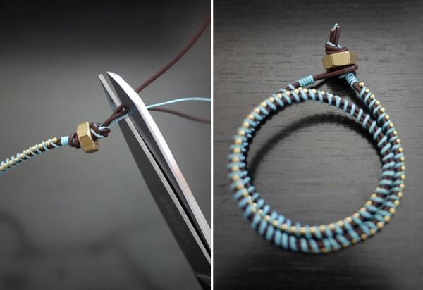 DIY wrap bracelets bmzoller