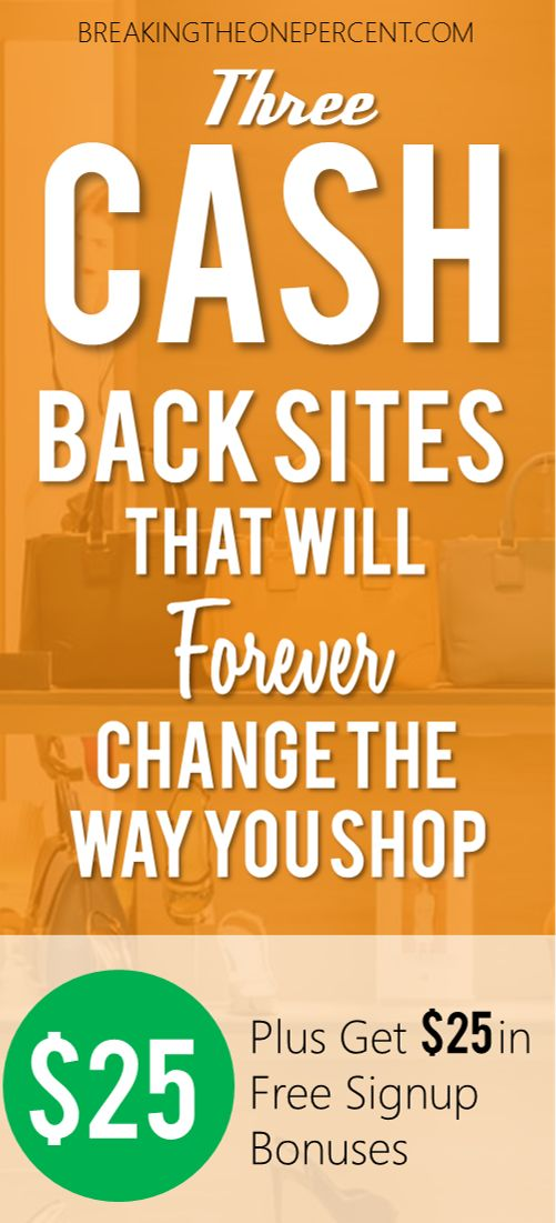 So useful! I had no idea you could make and save this much money from these top cash back sites. Signing up for all 3 :)