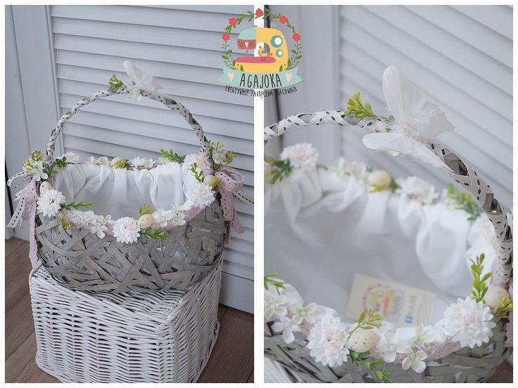 Wielkanocny koszyczek :) made by Agajoka
