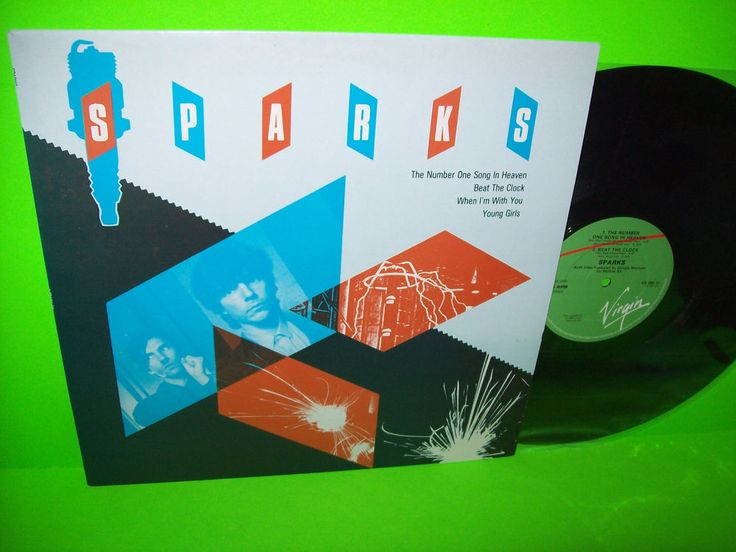 "SPARKS 4 TRACK 12"" EP NEW WAVE ELECTRONIC SYNTH-POP NUMBER ONE SONG IN HEAVEN +3 #SynthPop #Sparks"