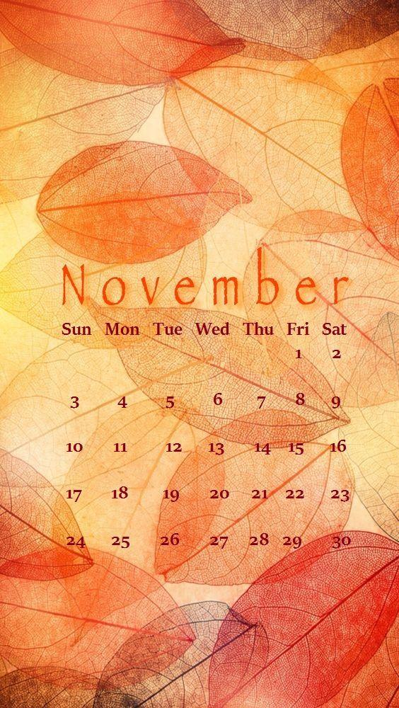 iphone november 2019 calendar wallpaper in 2019