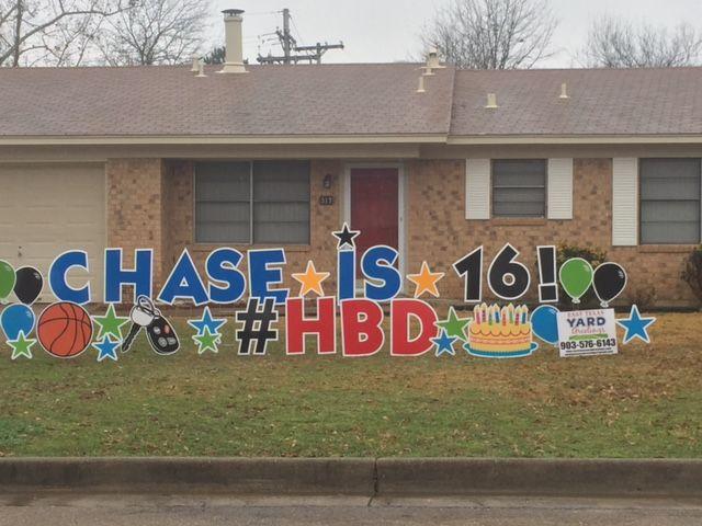 New Driver Birthday Yard Signs Happy Birthday Yard Signs Yard Cards