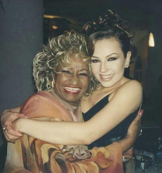 Celia Cruz y Thalia