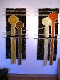 Telaresytapices .... Maria Elena Sotomayor : bosque oscuro II..... (arte textil) (Antofagasta)