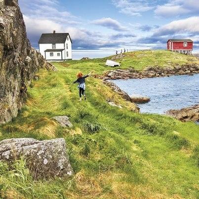 Newfoundland, Canada, where many of my family lives