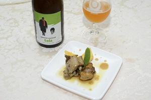 Pollo in Fricò di Birra su Losanga di Polenta tartufata - Alogastronomia