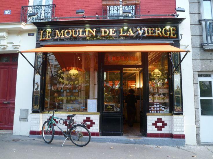 17 best images about paris on pinterest art deco design restaurant and bastille - Moulin a cafe boulanger ...