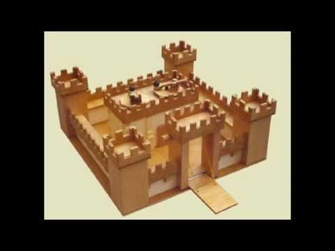 Simple Castle Minecraft tutorial - YouTube