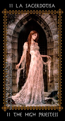 The High Priestess - Favole Tarot by Victoira Frances