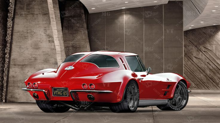 "1963 Chevy Corvette Split Window Coupe ""War Horse"" 