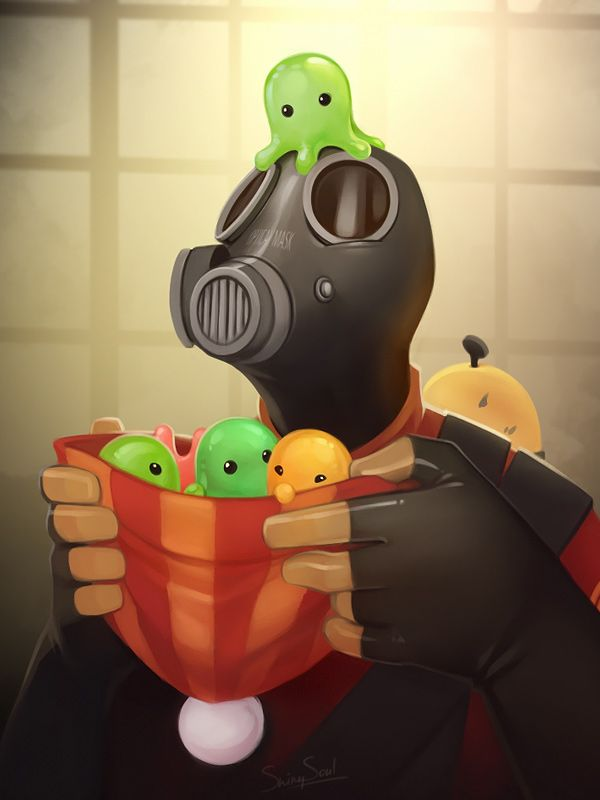 TF2: Pyro by ShinySoul on deviantART
