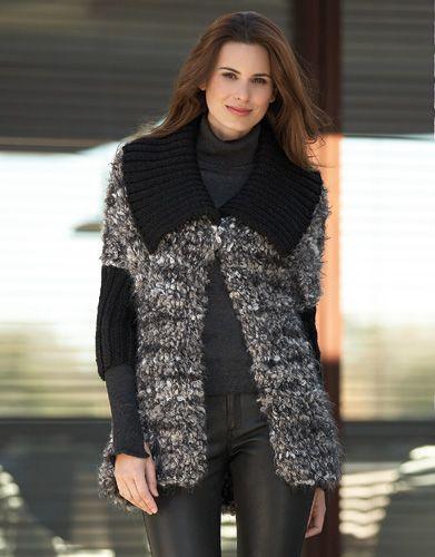 Book Woman Sport 90 Autumn / Winter | 47: Woman Jacket | Grey-Brown-Off-white…