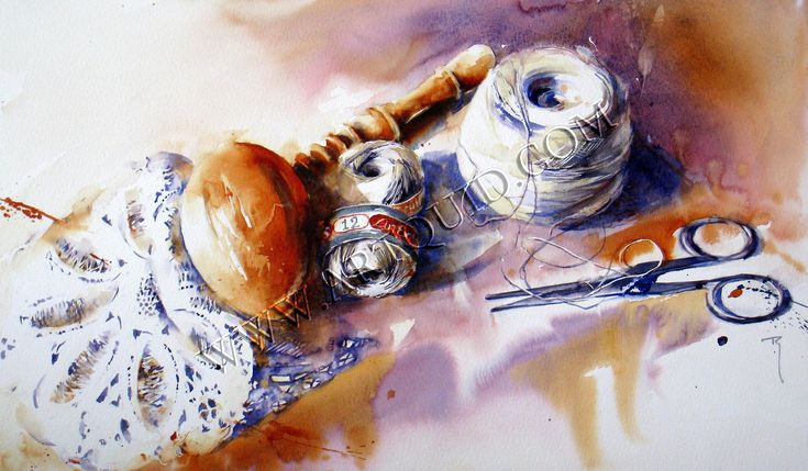 Catherine Rey-Watercolor