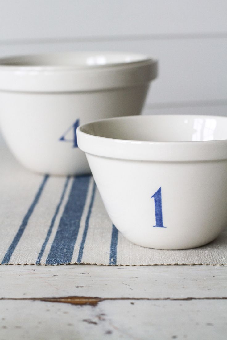 The French Stripe in Blue by Peony & Sage