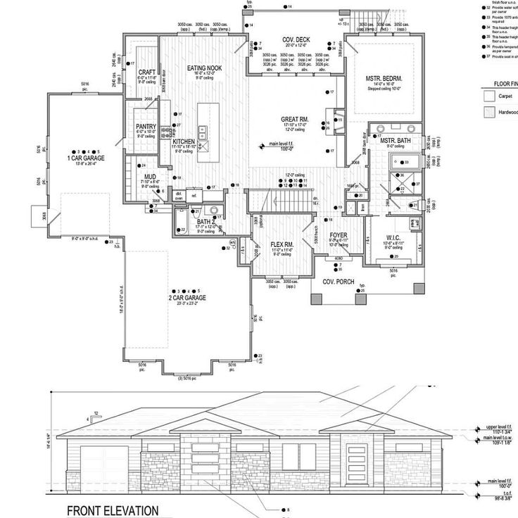 1000 images about house plans on pinterest farmhouse for Rambler house plans with basement