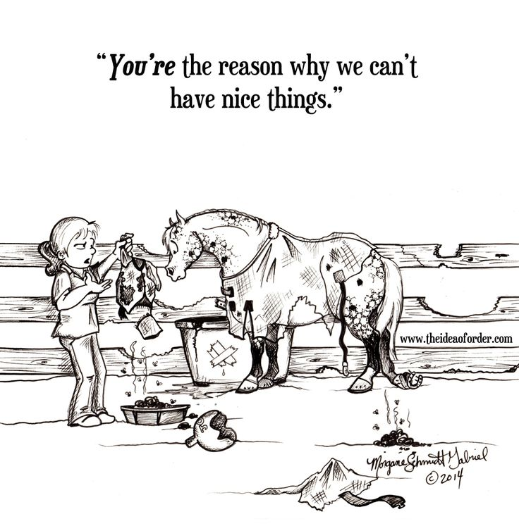 Seriously; I'm not sure what I'd do with all the money I'd have if I didn't have horses--or even if they would just STOP.BREAKING.THINGS. I'd probably swim around in it like Scrooge McDuck. Of course I'd probably also be a shell of a person without horses, which would be sort of lame. ;)