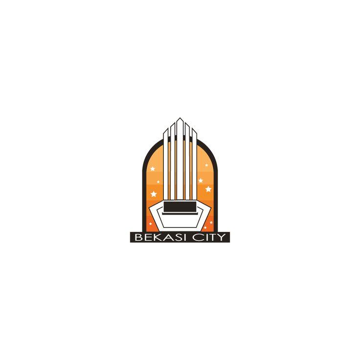 Illustrasi logo kota bekasi by apridesain.id