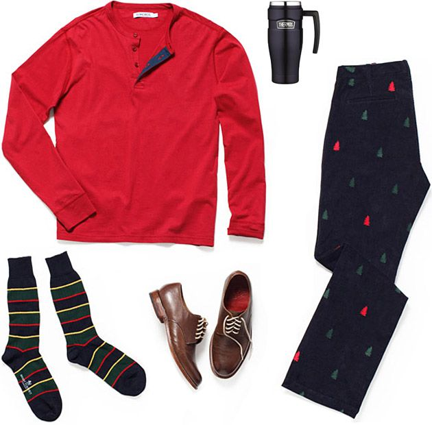 A little holiday cheer: Christmas Outfit, Christmas Morning