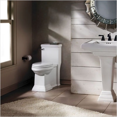 Town Square Flowise Rh 1 6 Gpf Elongated 1 Piece Toilet