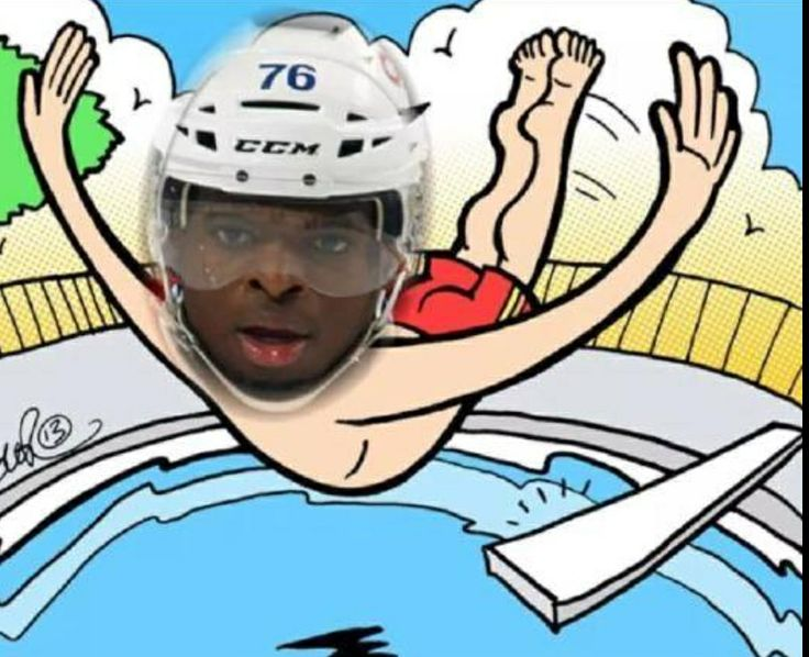 Take another dive Subban