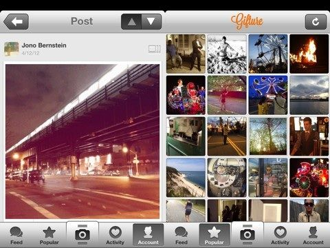 The Gifture iPhone app transforms your photos into animated gifs