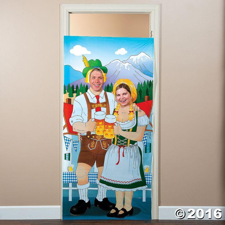 Oktoberfest Photo Door Banner - OrientalTrading.com