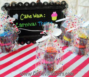 Cupcake Set - Great for Carnival Cake Walk Game