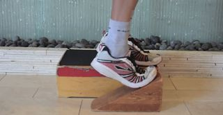 Eccentric Calf Training #running #physicaltherapy #fitness
