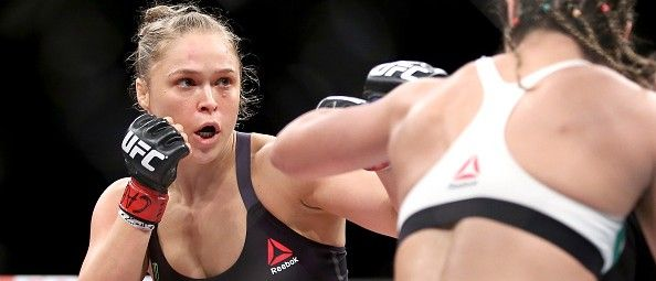 WORLD CHAMP: Ronda Rousey Only Needed 34 Seconds To Defend Her UFC Title (Getty Images)