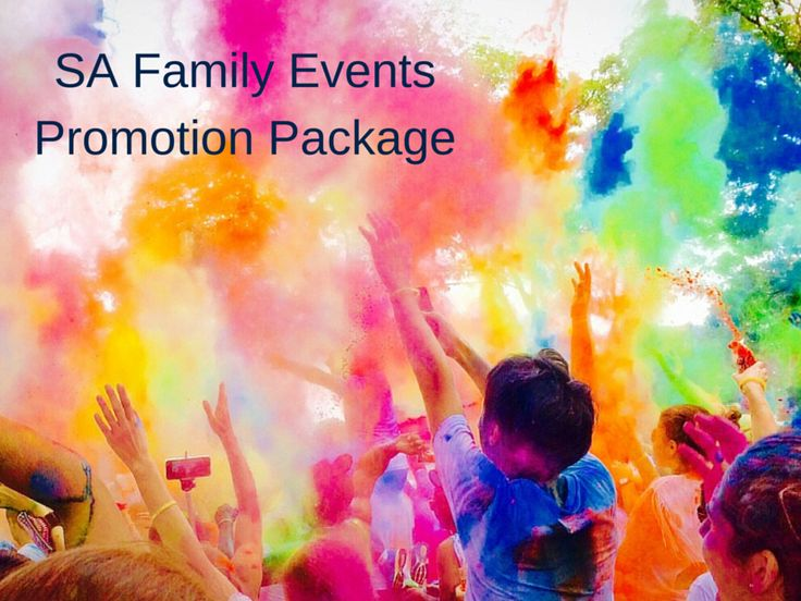 SA Family Events Promotion Package