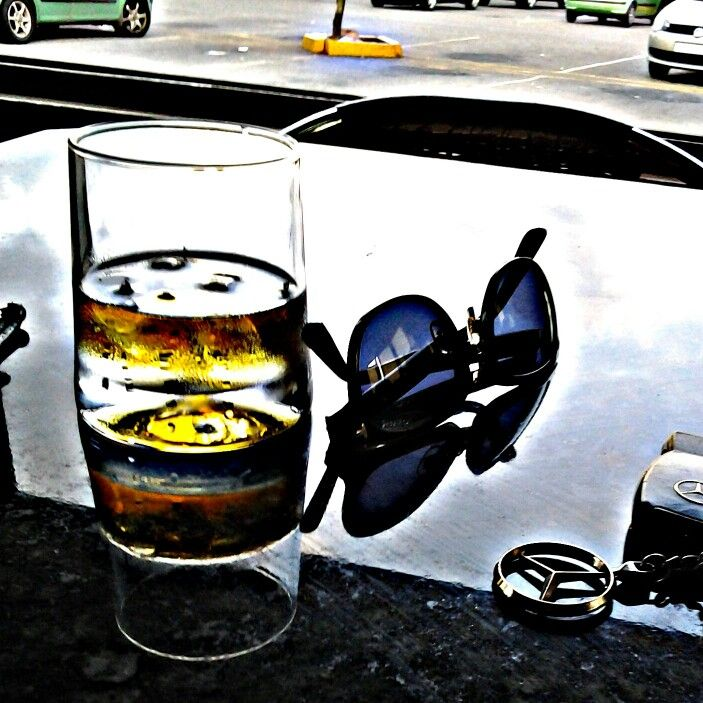 Car wash waiting,  got the whiskey for my throat, Tomford for my eyes, and the Benz just control