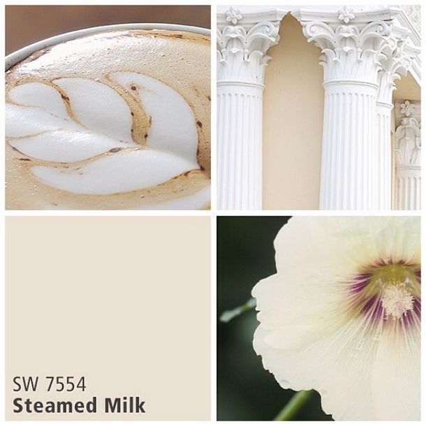Sherwin-Williams neutral paint color - Steamed Milk (SW 7554)