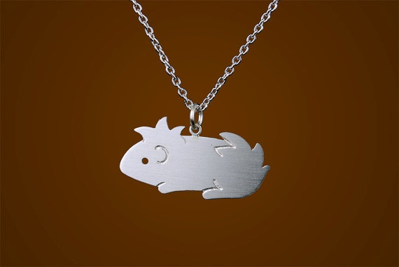 I pinned the Guinea pig cause I think he is cute too bad I don't like guinea pigs or I would get him in a second. I think one of the other necklaces would be better suited for me. Super cute stuff.