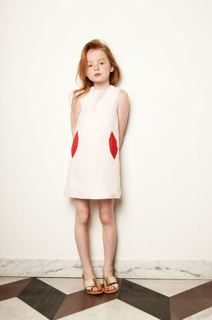 Lips pocket dress by My Little Dress up for kids fashion spring/summer 2015