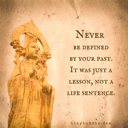 so true,  life is a learning curve,  learn by mistakes,  just don't keep making the same ones. x