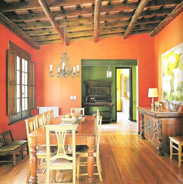Comedor r stico decorar con pasi n pinterest casas - Pintura y decoracion de casas ...