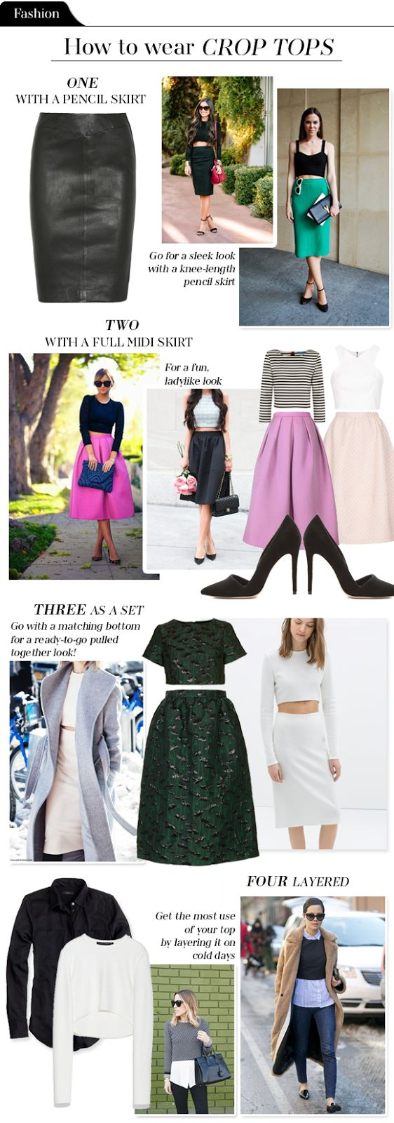 The Vault Files: Fashion File: How to wear crop tops