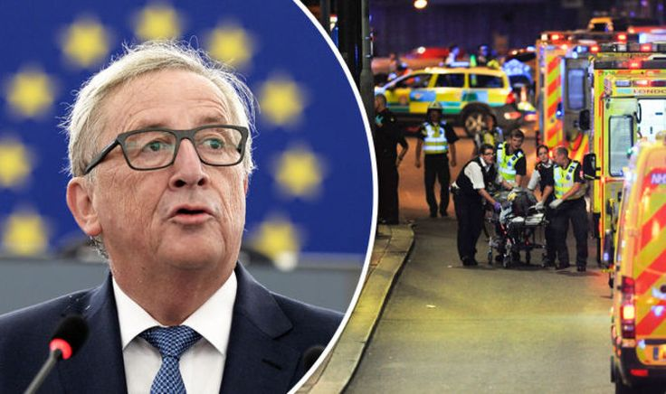 Shameless Jean-Claude Juncker uses London terror attack to call for EU army