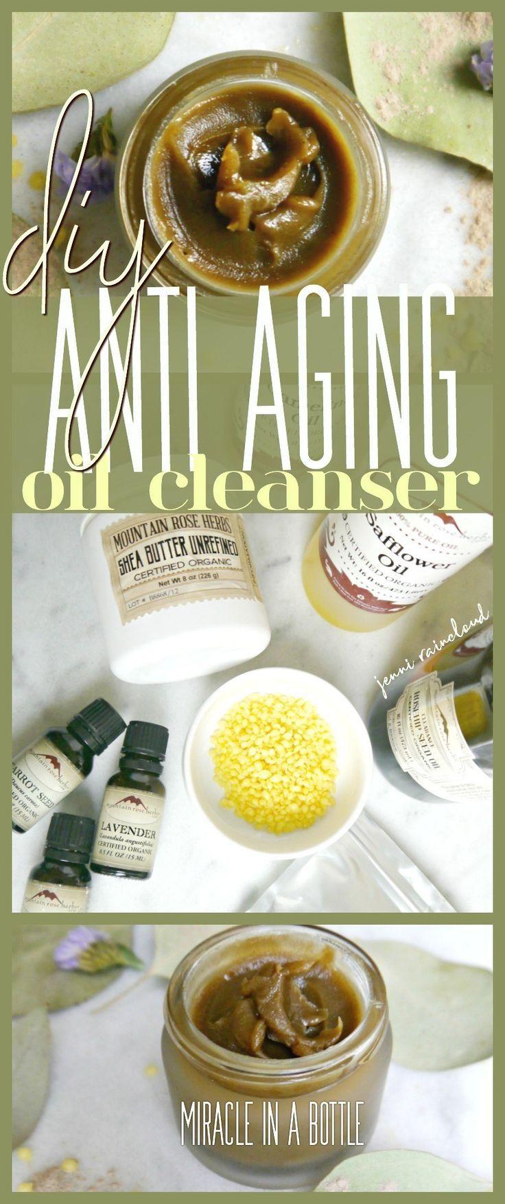 DIY Geranium Rosehip Anti Aging Oil Cleanser – #aging #Anti #cleanser #DIY #geranium #Oil #r…