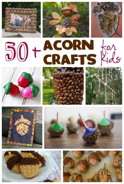 There are so many ways to use acorns in craft projects, especially for kids. Doesn't matter if you have toddlers,...